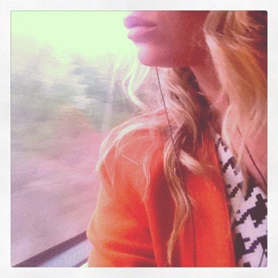 #music #window #train #travel #sunset #countryside #wine =#bliss  (at Royal Botanical Gardens)