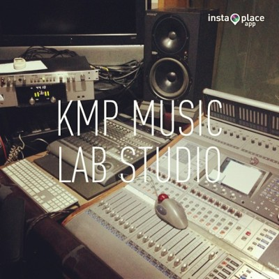 #Studio! @MistaVybe + @PrecisionProd = #Hits 😎 #instaplace #kmpmusiclabstudio (at KMP Music Lab Studio)