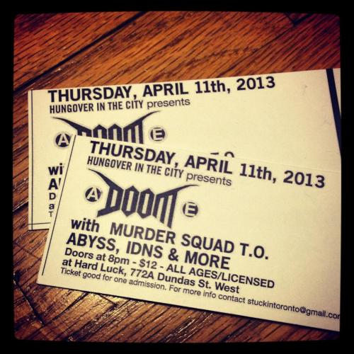 Doom this thursday fuuuuck yessss