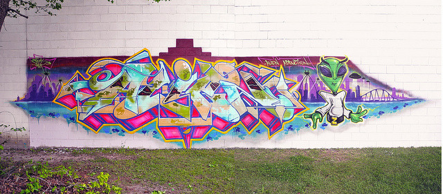 Alien1 2013 by zoneism on Flickr.