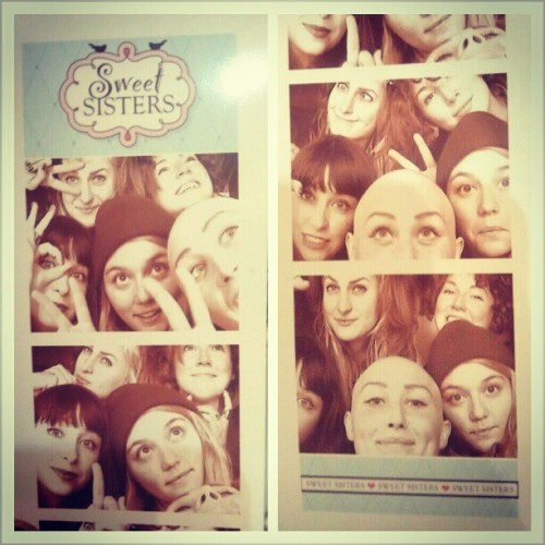 ericalynn:   Just hanging out in the mall with my ~*~sweet*sisters~*~ @molly_anguish @jenniferjoy678 @rorycheeto and #christineisababe   Love my ladies. I said I was feeling sad and Rory offered to hold my hand. So, we held hands as I drove her and Jen home. Such a good day.