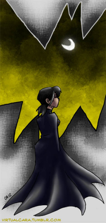 Cassandra Cain, forever my Batgirl, who understood people about as well as I did at the time  (as in, not at all) but what she could for the betterment of all anyway. As much as I like kicking DC when it stumbles, it sure shaped the person I am today. So what has DC taught you? Positive or otherwise.  Image done in ink on paper, Sai and a bunch of photoshop brushes. I will get this digital coloring thing some day.