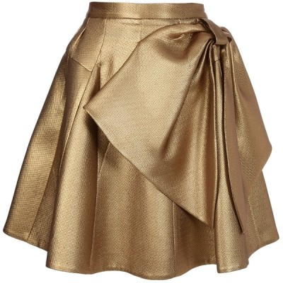 Dice Kayek skirt   ❤ liked on Polyvore (see more pleated skirts)