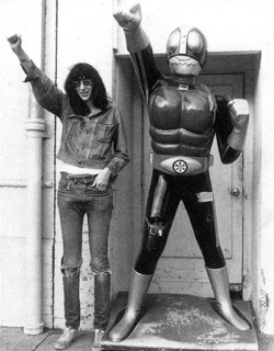 Joey Ramone & Friend