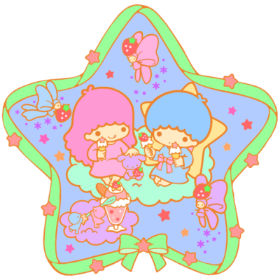 #Easter#christmas#Summer#pastel #holly and ivy #strawberry#bird#ice cream #little twin stars #transparent
