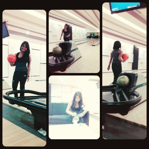 Feel ang moment. Hahahaha :D #Bowling #SMLanang #Happy #Smile #Play #optimistic #Fun
