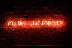 dat-sick:  You Will Live Forever