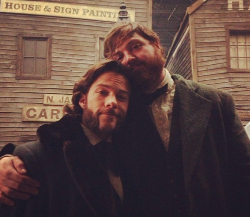 "coppertv:  ""Beardy shenanigans.""  via @baxtonpeesley"