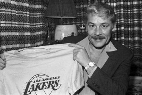 fuckyeanba:  1/17/34 − 2/18/13 R.I.P Dr. Buss [photos via]