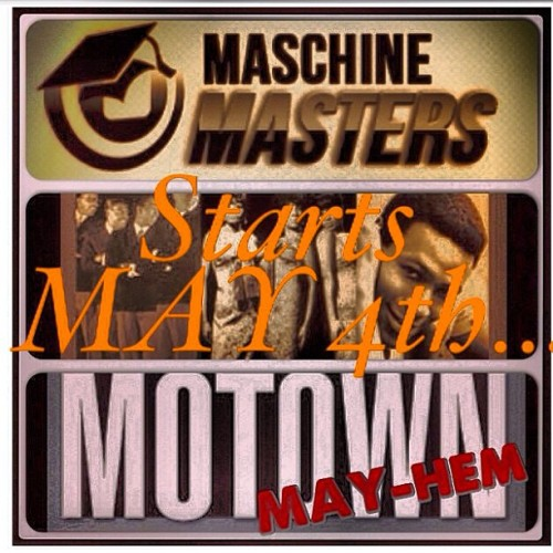 "@MaschineMasters Presents #MaschineMasters #Motown #MAYhem & #BeatBattle starting May 4th s/o to all the co-sponsors @1goodknob @kicksandsnares @drumbrokers @istandard @istandardproducers Join the ever so growing maschinemasters.com community today www.bit.ly/ZNNAZn. #MaschineMasters.com ""Creating Inspiration For Motivation"" #STWFTO"