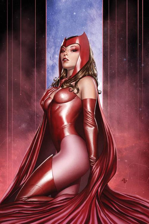 A Brief Scarlet Witch Dossier  Primary Mutation: casts hex spells to change probability Secondary Mutation: develops ability to alter reality Tertiary Mutation: lives happily without a traditional spinal column