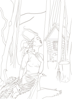 Baba Yaga.work in progres