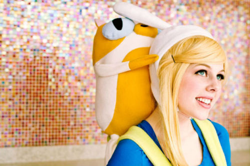 merlin:   Cosplay of the Day: Fionna from 'Adventure Time' Utterly delightful.
