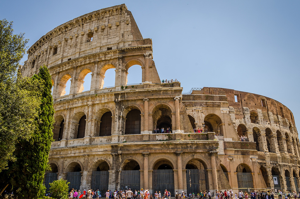The Colosseum, Rome (by joenmina1)