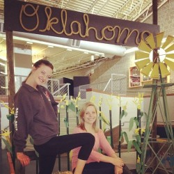 Chillin' at Oklahoma! What an awesome production, congrats to all involved! #oklahoma #play #drama #mvhs @charlotteswaney  (at Mountain View High School)