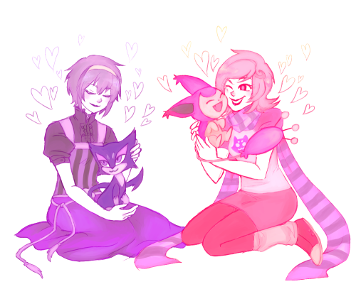 blackoutballad:  sorry if this has been done before but here are some lalondes and kitties