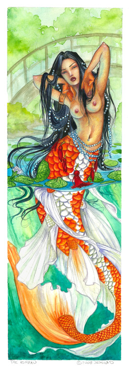 """ The Kohaku ""  ….  Artist:  Jessica D"