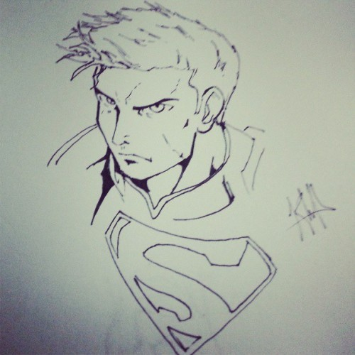 Late night boredom 2 my favorite also #SuperMan