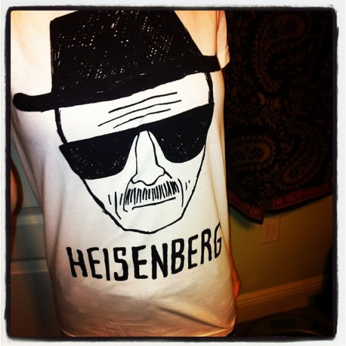 """Say my name"" ""Heisenberg"" … ""You're God-damn right""."