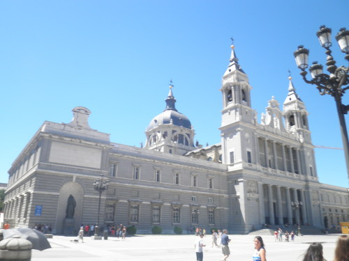 external facade of the palacio real