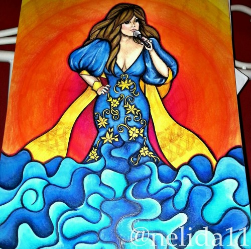 My Jenni Rivera drawing ♡