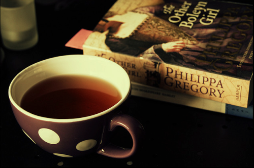 theantidote:  Tea and a good book! (by Louise van Gend)