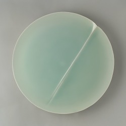 "audreykrukoff:  ""Seascape"" (porcelain with celadon glaze) by … 