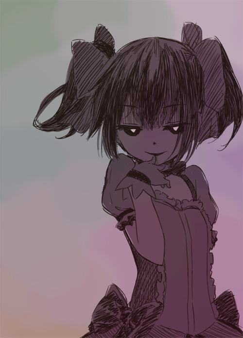 kevin-miku:  黒魔法少女