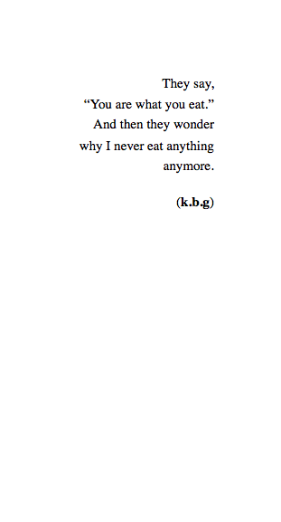 lettersto-savemyself:  I Am Nothing (133/365)