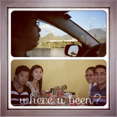 April 2013. Made with #typic #roadtrip #bonding #friends #makiling #mytravelgram @migsffrancisco @guadaramos @emersondimaya