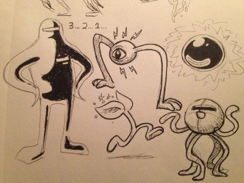 sailorleo:  lookin thru an old sketchbook and found these!! i think i meant to post them but never did