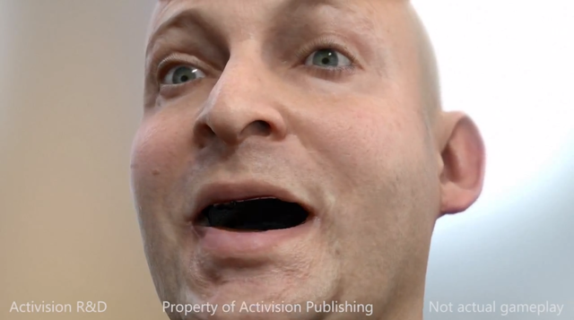 thisistheverge:  Watch this: Activision shows off stunning, unsettling next-gen facial rendering If you thought Sony's creepy tech demo involving that old man's face during the PlayStation 4 event was something, wait until you see what Activision's R&D department has been working on.