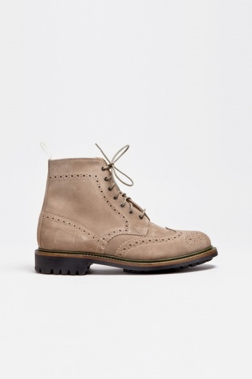 Suede Brogue Boot Dirty BuckMark McNairy x Tres Bien