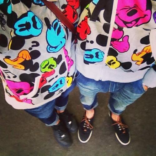 #ootd Disney sea! ディズニーシーお揃いのパーカーで行ってきたよー #summer #japan #disney #sea #matching #ディズニーシー #お揃い #夏