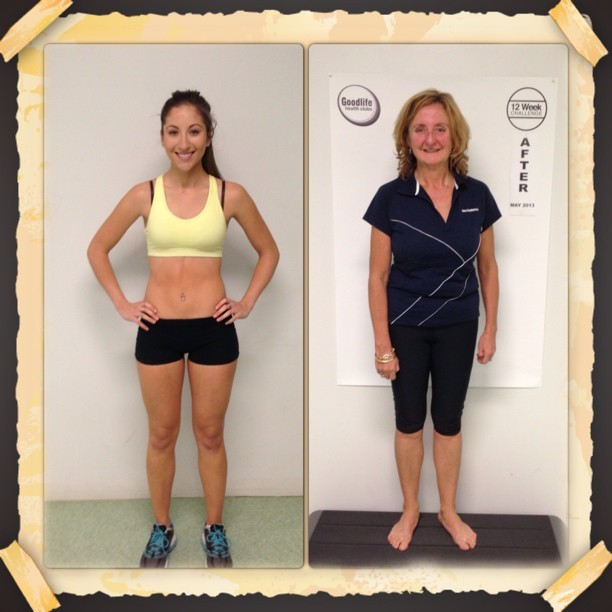 Super proud of my 12 week challenge clients. Awesome drops in body fat & increase in muscle mass for both. Awesome muscle tone changes for Chloe & a huge 11.7kgs in weight loss for my weightless client Joy. So thrilled to have helped them both achieve so much!! #personaltrainer #bodytransformation #fitness