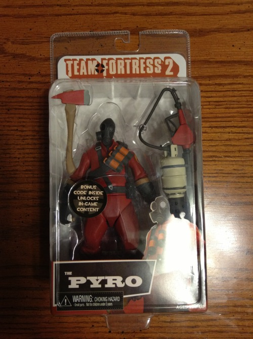 Pyro toy has arrived!