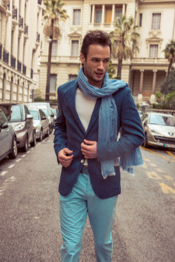 mensfashionworld:  Romain Bossonnet by Daniel Holfeld