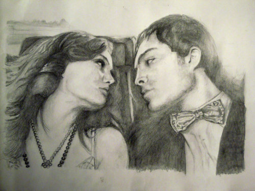 Blair And Chuck - The Limo scene by ~aluschka