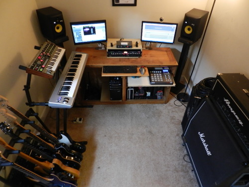 cavinvanderpoel:  I am a freelance audio engineer based in Richmond, VA. I just received my Music Production using Pro Tools Master Certificate from Berklee School of Music, and I'm Pro Tools Certified. I've been working in music production for over 7 years and playing music for about 8 years. Pro Tools is my DAW of choice, although I have experience with others including Adobe Audition, Cubase, Nuendo and Record. I've also had experience working with numerous genres ranging anywhere from hip hop to metal. If you or anyone you know needs recording, mixing, mastering, a song written, film scores, foley work, guitar and bass reamping or drum resampling; send them my way! http://www.cavinvanderpoel.com