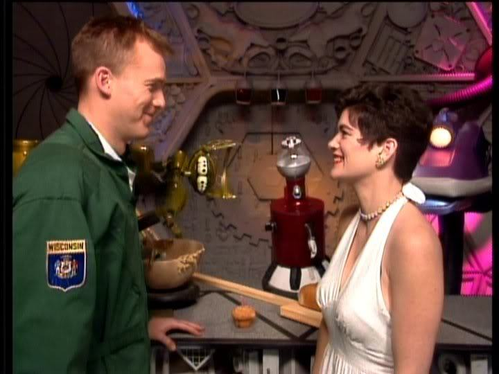 fuckyeahmst3k:  sweetmadameblue:  Mike and Bridget <3  OTP! It's canon.