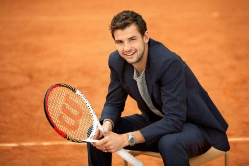 Happy 22nd birthday Grigor Dimitrov