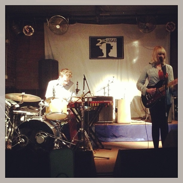 split-works:  .@wyeoak sound check in Beijing! Show tonight @ 2 Kolegas, doors at 9. (at 2 Kolegas | 两个好朋友)