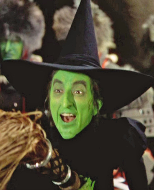 pbmc77:  The Wicked Witch of the West Margaret Hamilton The Wizard of Oz (1939) MGM