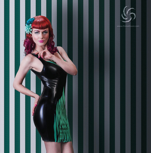 for Manic Panic&Whipshhh Latex  model and make up artist: Greta MaCabre Hair: Bettie Boop studio/Manic Panic