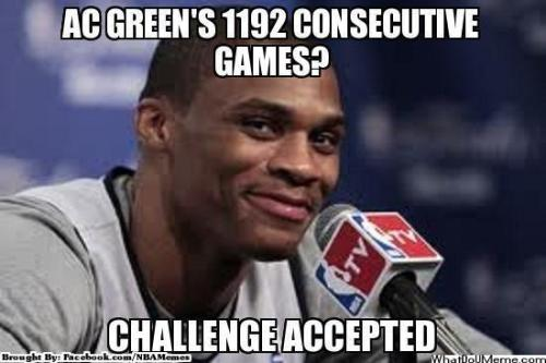 Can Russell break the record?