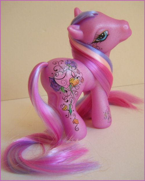 OOAK Custom My Little Pony Adoree by ~eponyart