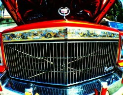 Let me see your grill. Cadillac Fest 2013  shot w. Mobi-Lens wide lens + iPhone 5  Get your Mobi-Lens, on sale now.  www.Mobi-Lens.com