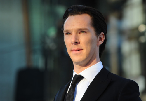 "bizarre-sugar:  #HQ - Benedict Cumberbatch attends the UK Premiere of ""Star Trek Into Darkness"" at The Empire Cinema on May 2, 2013 in London"