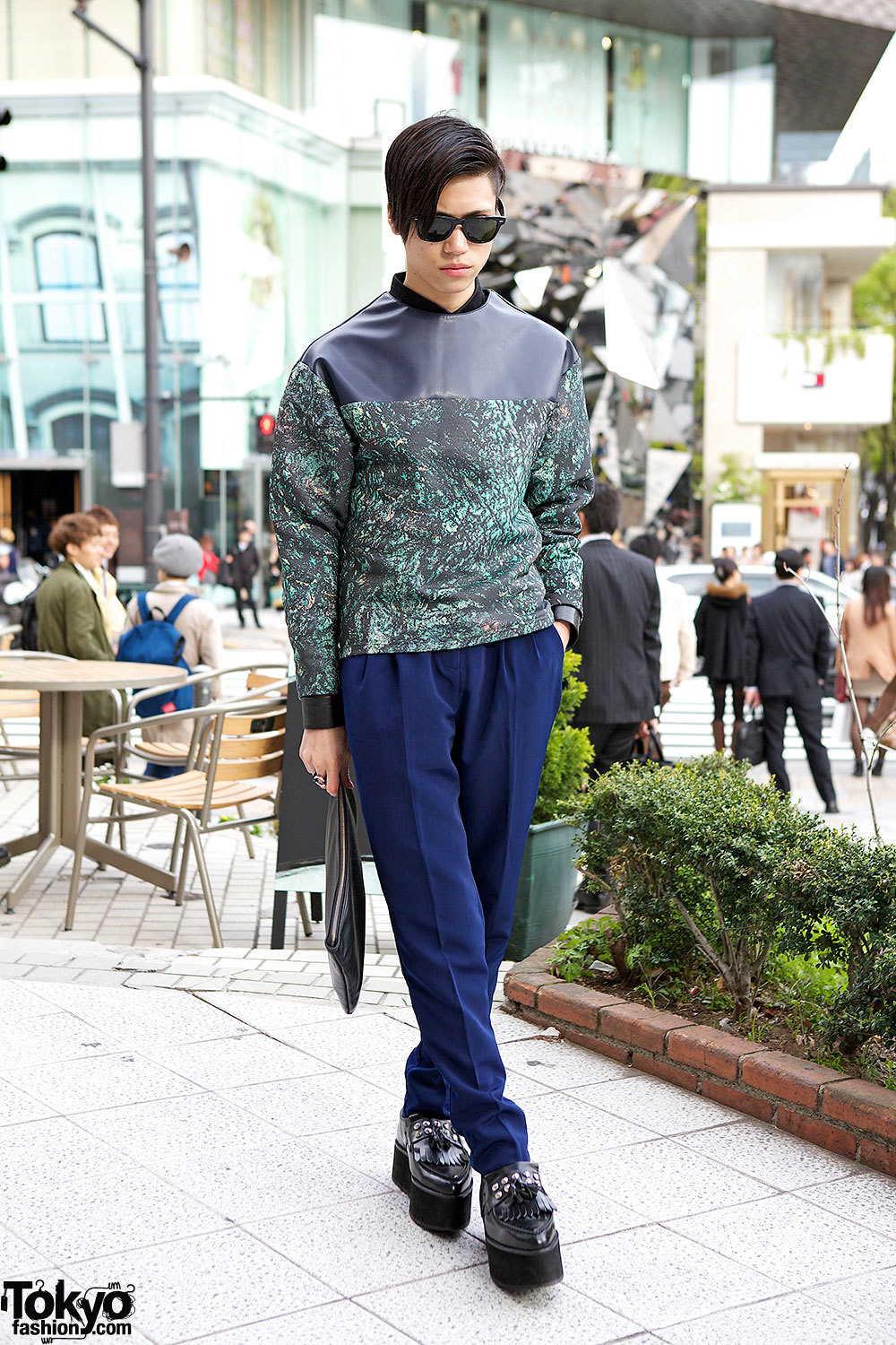 17-year-old Taiga in Harajuku w/ Christian Dada & American Apparel.