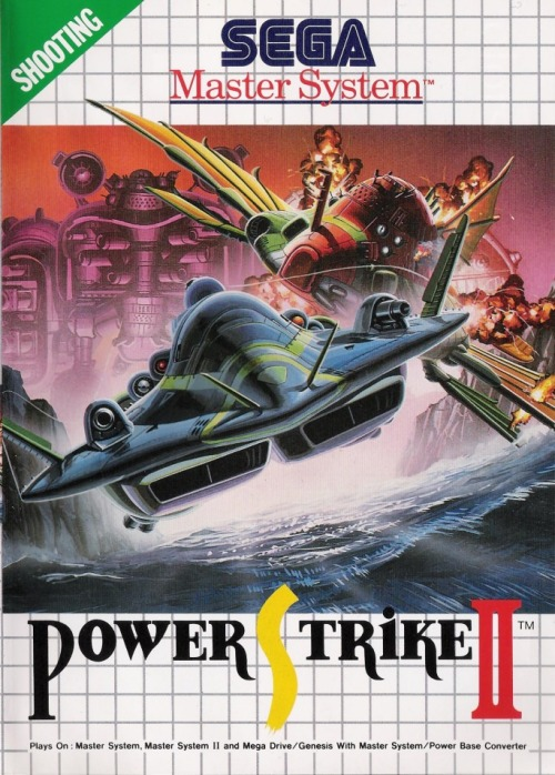 Power Strike II, Sega Master System.